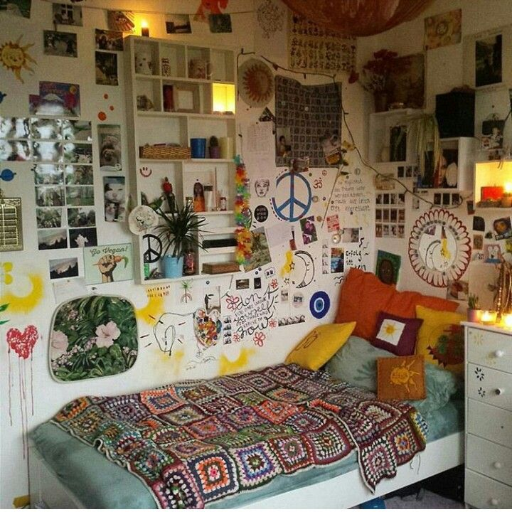34 Best Great Dorm Bathroom Ideas Images On Pinterest: Boho Bedrooms Ideas, Hippie Room Decor And Hippy