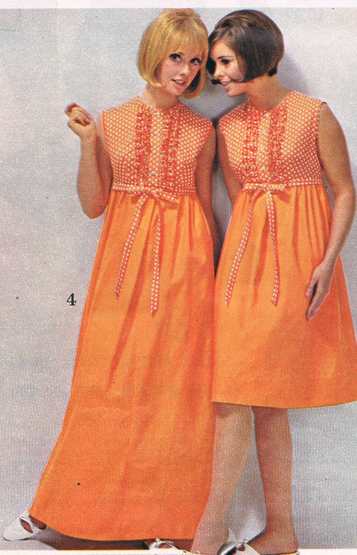 Spiegel Catalog 1966 Cay Sanderson And Unknown Model In