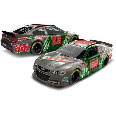 EXCLUSIVE: Action Racing Collectibles Dale Earnhardt, Jr. 2012 Diet Mountain Dew 1:24 Scale Platinum Die-Cast Chevrolet SS - Brushed Metal
