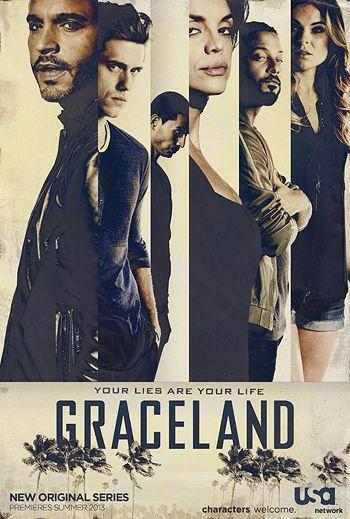 Graceland USA network... cannot wait for tonight!!
