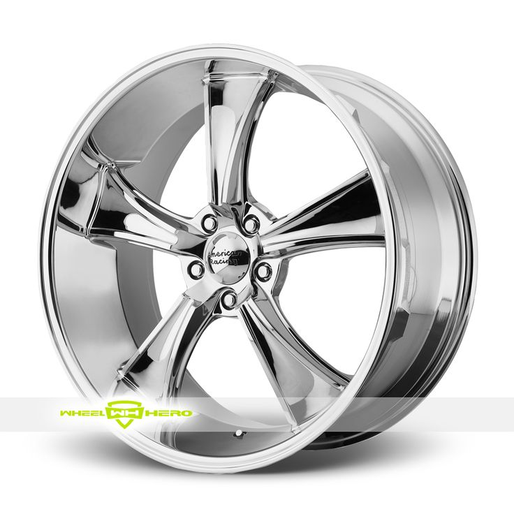 American Racing VN805 Blvd Chrome Wheels For Sale  - For more info:  http://www.wheelhero.com/customwheels/American-Racing/VN805-Blvd-Chrome