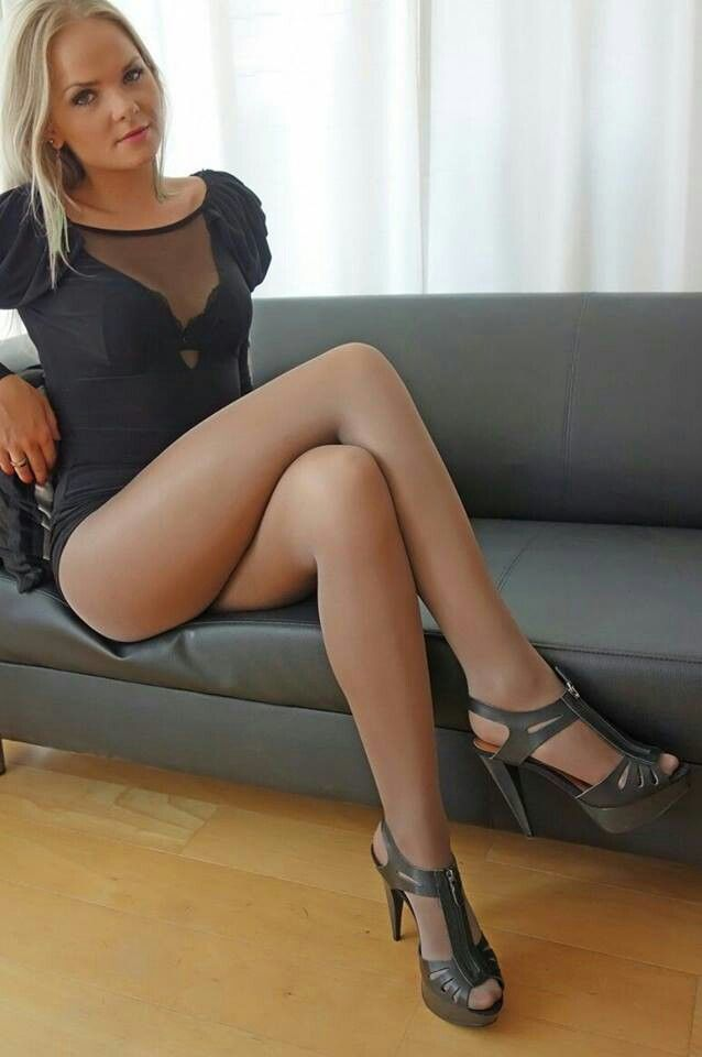 Hot sexy pantyhose legs — 1