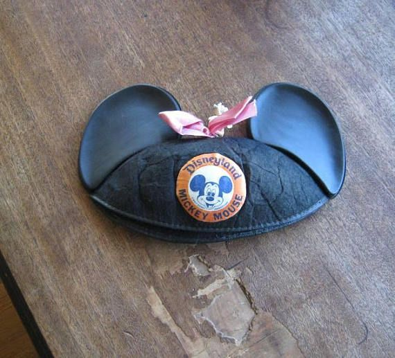 Girls' Vintage Mickey Mouse Club Hat w/ 'Colleen'