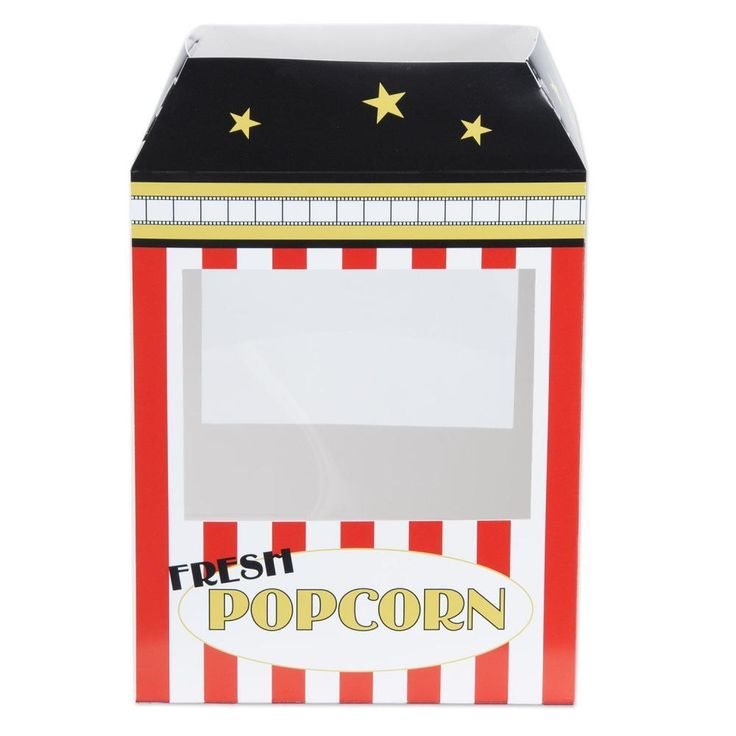 Popcorn Machine Centerpiece (12ct)
