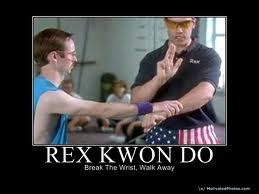 Rex Kwon Do......martial arts expert!