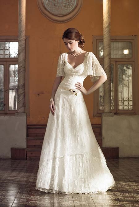 spanish wedding dress (the engagement party dress)