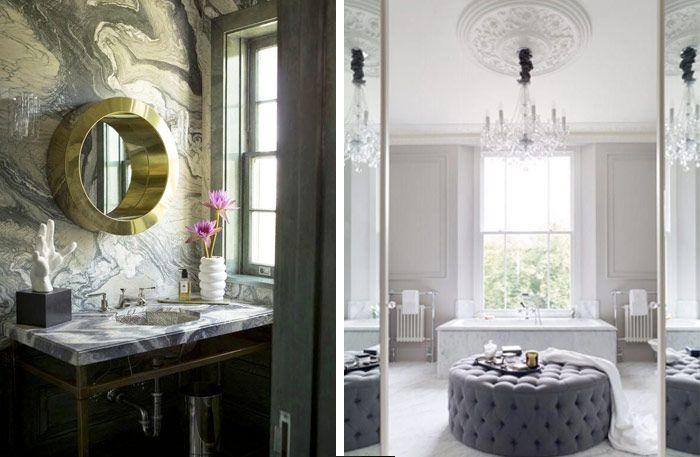 Nej, det går inte att komma ifrån att ett badrum inrett i marmor i olika färg eller form känns extra lyxigt. Här är 19 lyxiga badrum att inspireras av!