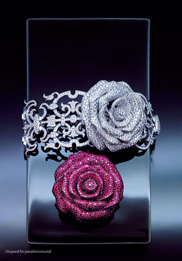 Wow! Chopard: Diamond Rose Bracelet