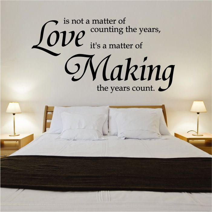 Love Quotes And Sayings Wall Photos :  ... Gallery Wall Sticker Quotes & Words Love Making Wall Quote ...