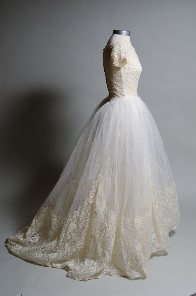 1950 S Vintage Wedding Dresses.Balenciaga Vintage Wedding Dress