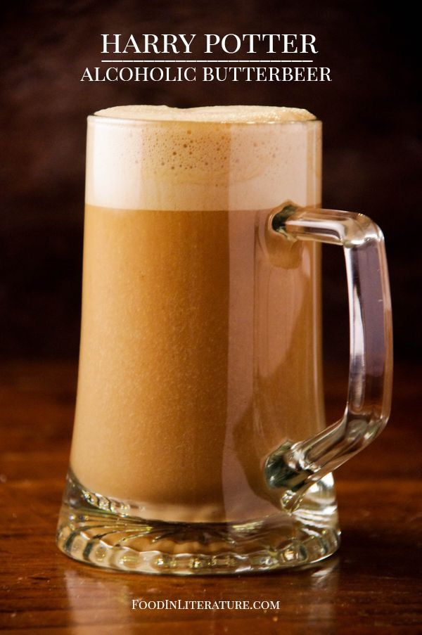 Harry Potter Alcoholic Butterbeer - Food in Literature