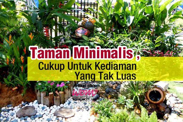 Taman Minimalis, Cukup Untuk Kediaman Yang Tak Luas | http://www.wom.my/gaya-hidup/taman-mini-di-rumah/