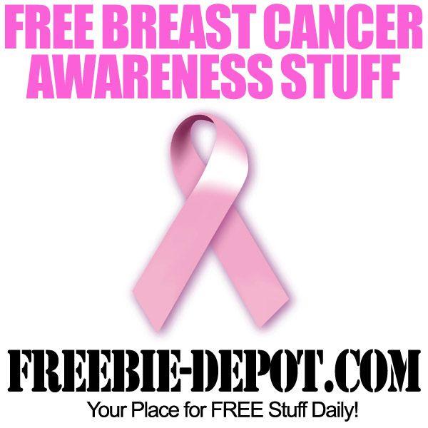 FREE Breast Cancer Awareness Stuff