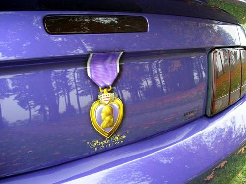 The Korum Ford/Auto FX Purple Heart Mustang & 96 best Ford in Uniform - First Responders u0026 Military images on ... markmcfarlin.com
