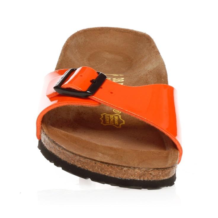 Mules Madrid vernis orange - Birkenstock - Nouvelle Collection et ventes privées | Brandalley