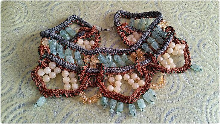 Necklace. Collana di Ludovica Ricciardi design Roma. Gioielli d'arte