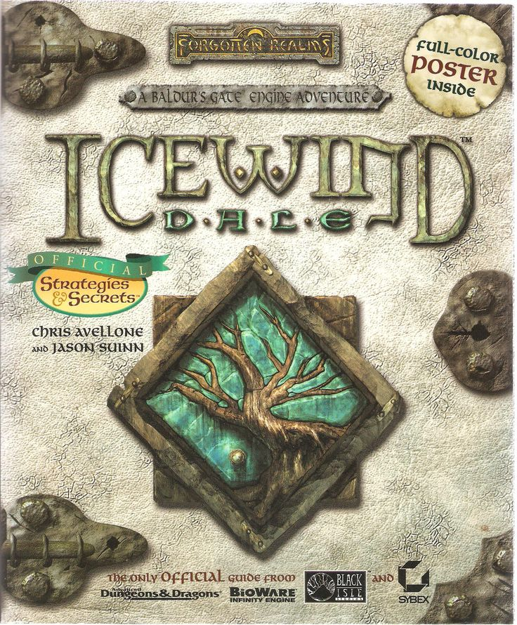 Ice Wind Dale.Official Strategies and Secrets. by Chris Avellone and Jason Suinn.