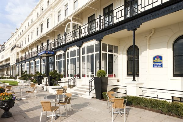 #RoomAuction Hotel: Best Western Dover Marina Hotel & Spa - #Dover Hotel is  a seafront hotel in Dover, #Kent within walking distance of the Dover Town Centre with the #WhiteCliffs of Dover in the background