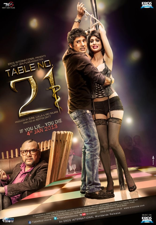 Table No 21 Official Poster