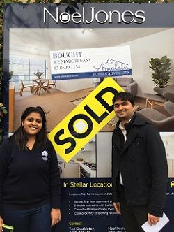 New clients Malay and Stuti are overwhelmed by their positive and delightful experience with Amalain in buying their property. #amalain #wemakeiteasy #melbre