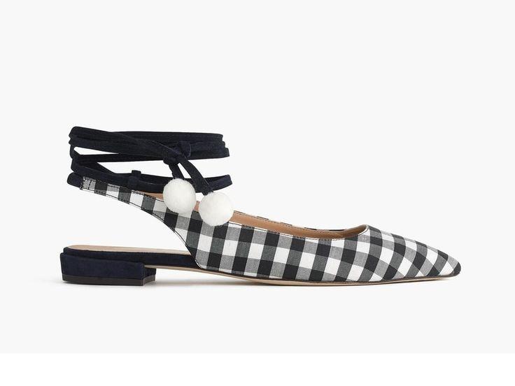 Chaussures vichy, J.Crew, 199 € au lieu de 284 €.