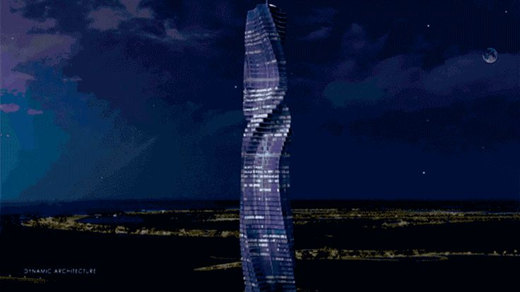 Vai nascer um arranha-céus giratório no Dubai