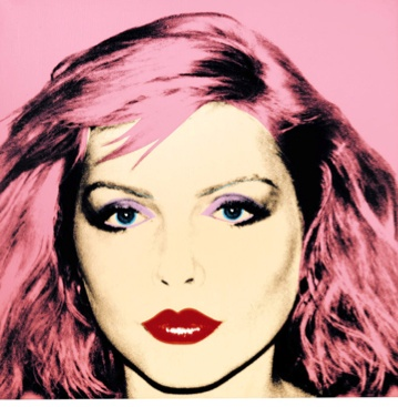 This Debbie Harry portrait painted by Andy Warhol sold For 5.9 Million in July 2011...