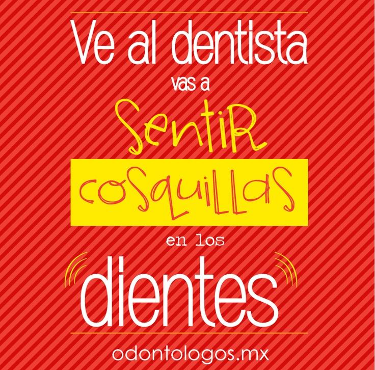 Ve al Dentista vas a sentir COSQUILLAS en los Dientes