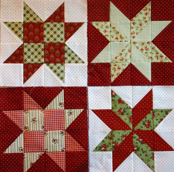 Christmas Quilt Magic Quilt Blocks Here Are My Blocks