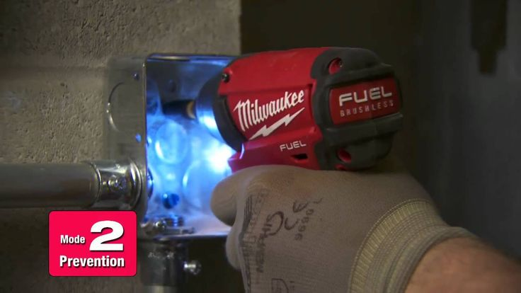 Milwaukee® M18 FUEL™ Impact DRIVE CONTROL™ - Electrical Applications