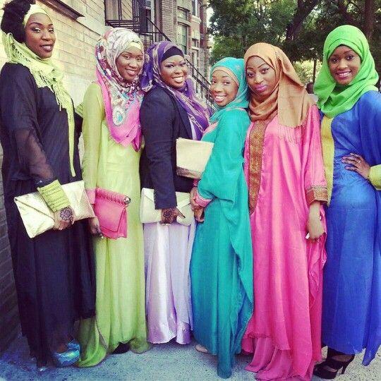West African Muslim Girls The Beauty In Islam Hijab