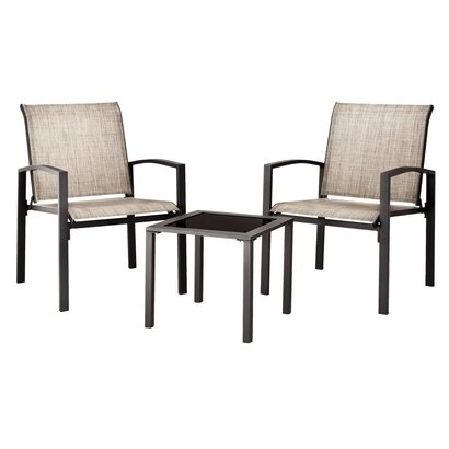 Target Home™ Gilmore 3 Piece Sling Patio Chat Furniture Set. I Want These