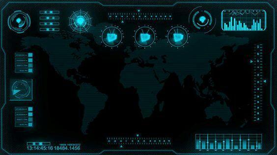 Spy Theme Interface Inspiration