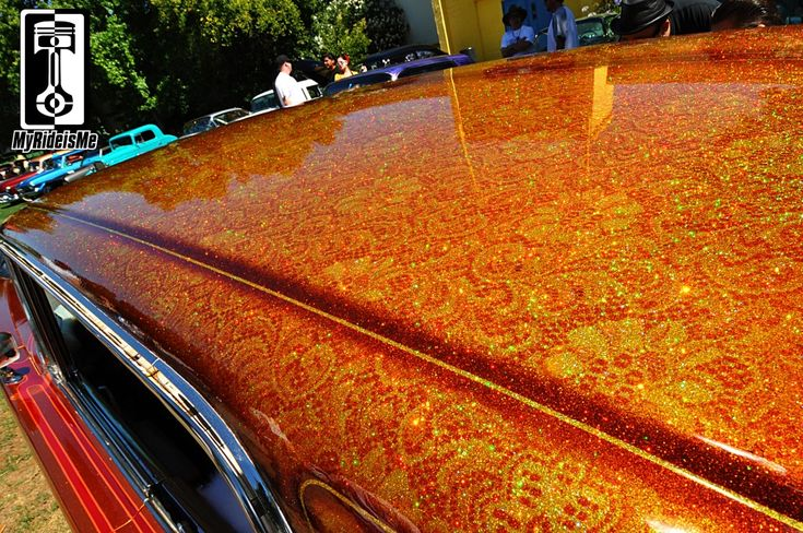 Google Image Result for http://www.myrideisme.com/Blog/wp-content/uploads/2012/08/Custom-car-paint-metal-flake-roof-2.jpg