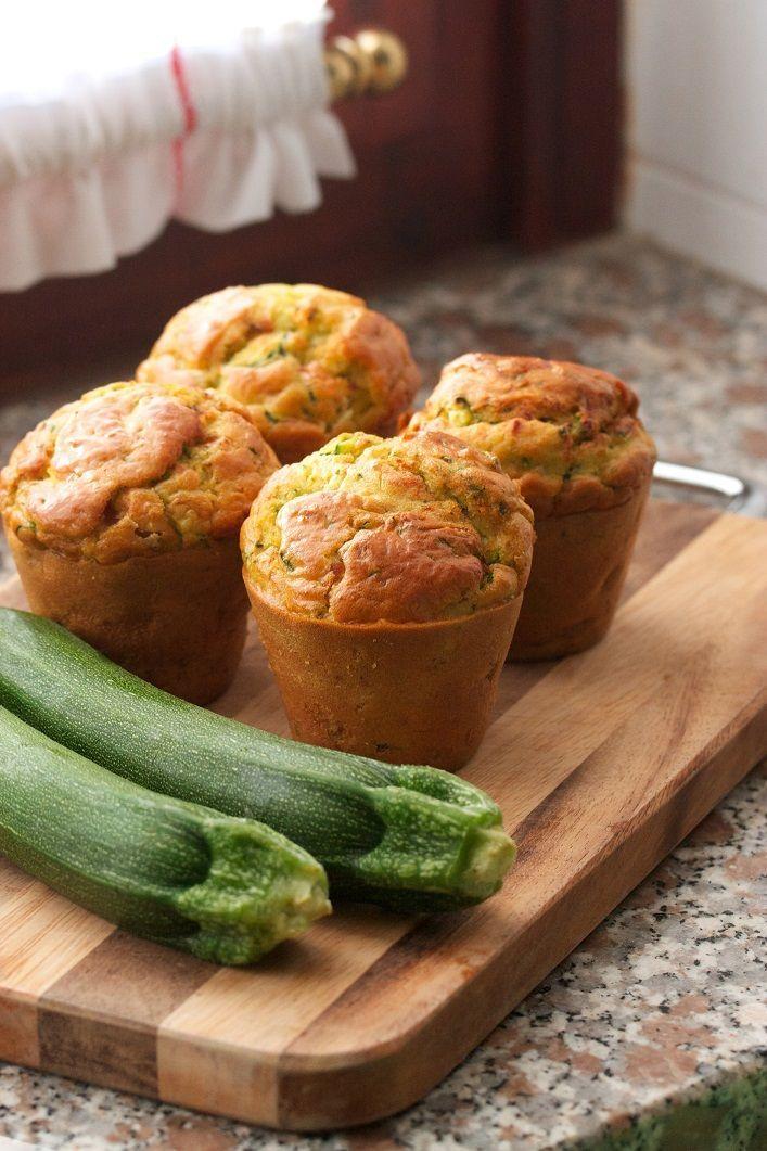 Cuketovo-banánové muffiny