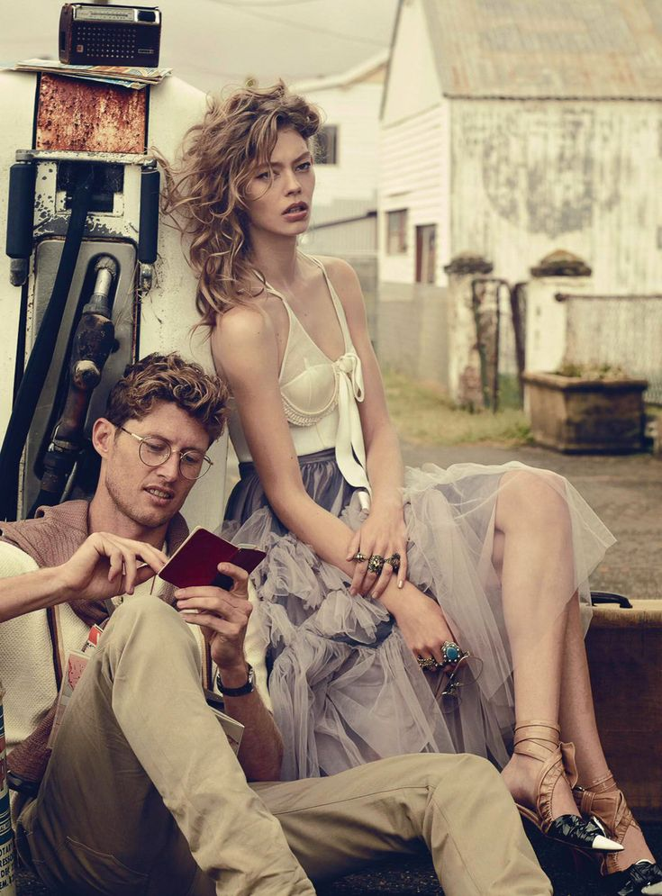 Vogue Australia March 2016 Ondria Hardin and Jimmy Young Whitforde by Will Davidson