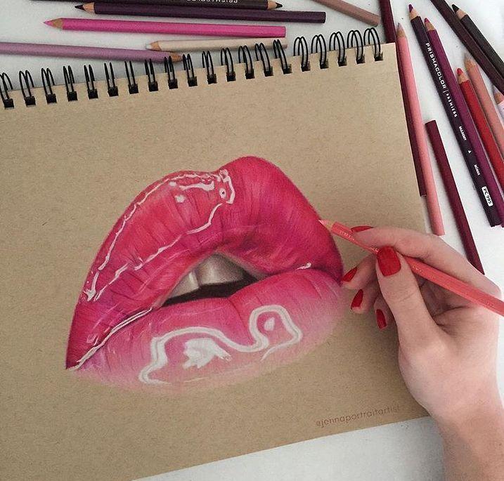 Lip Coloring Panosundaki Pin