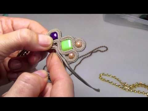 soutache tutorial. Fantastico tuto!!!