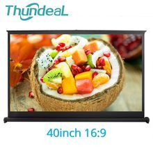 ThundeaL 40 inch 16:9 Portable Projector Screen for UC46 GM60 YG400 Table Matte White |  Free Shipping | #aliexpress_gadgets #aliexpress_products #aliexpress_men #aliexpress_home #Best_Product_Aliexpress #AliExpress_OnlineStore  #Aliexpress_Hot Promo  #AliExpress #portableprojectorscreen
