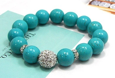 gemstone bangle 원석팔찌