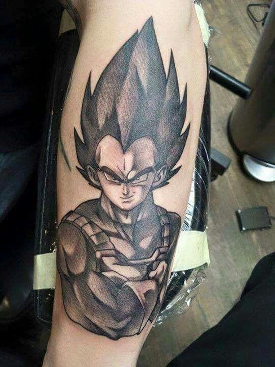 Vegeta tattoo tattoos pinterest tattoo awesome for Black ball tattoo