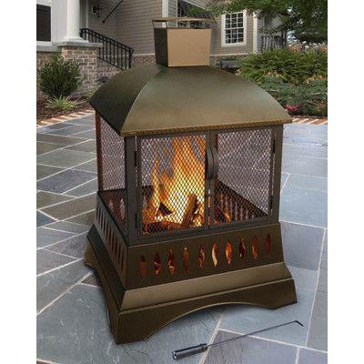 Landmann Grandezza Outdoor Fireplace & Reviews | Wayfair