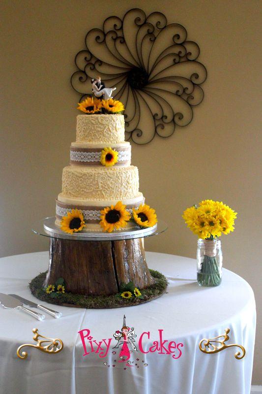 Country Wedding Cakes Az Unique Wedding Cakes Dandelion