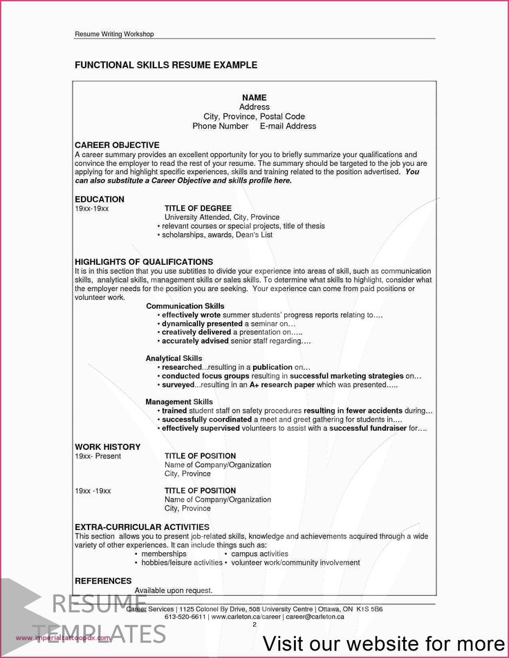 resume template free microsoft in 2020 Resume skills