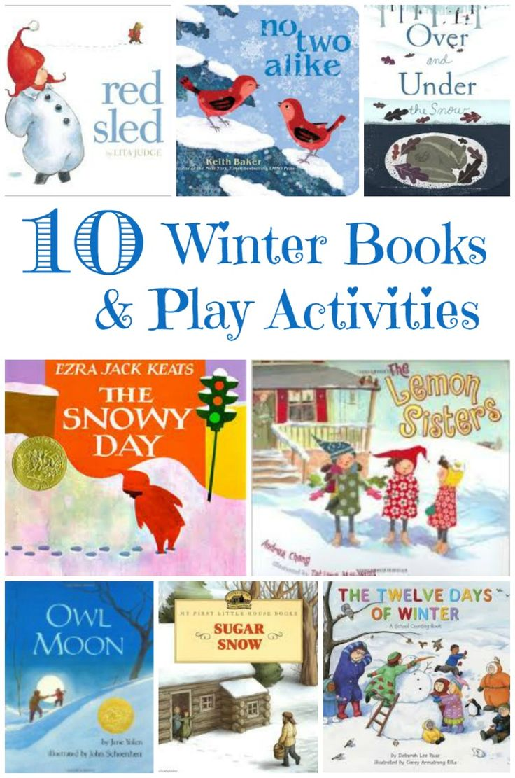 Kids will love these outdoor & indoor winter activities that pair with favorite Winter books!