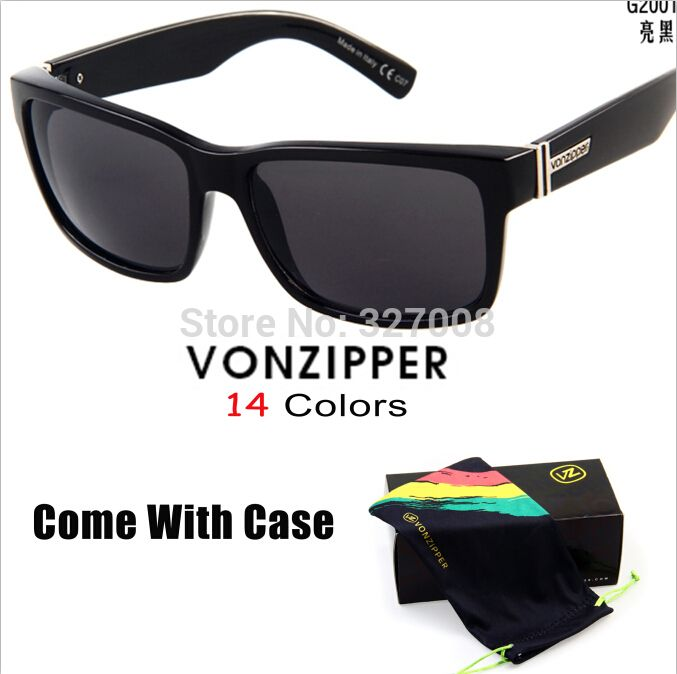 Von Zipper Sunglasses 2014 Fashion Sporting Brand Vonzipper Cycling Glasses Men Bycicle Goggles Lenses Ciclismo Gafas With Box #CLICK! #clothing, #shoes, #jewelry, #women, #men