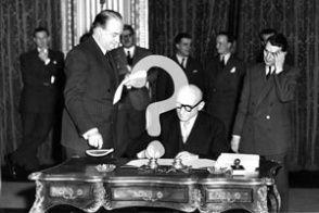 Quiz-Teaserbild: Geschichte der EU (© AP)