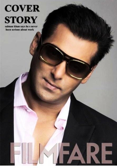 Salman Khan on the cover of Filmfare