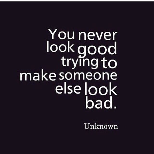 Never will. You make yourself look like a fool
