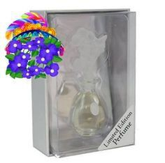 Jessica McClintock Perfume JMC Fragrance EDP Lily Stopper Vanity Collectible